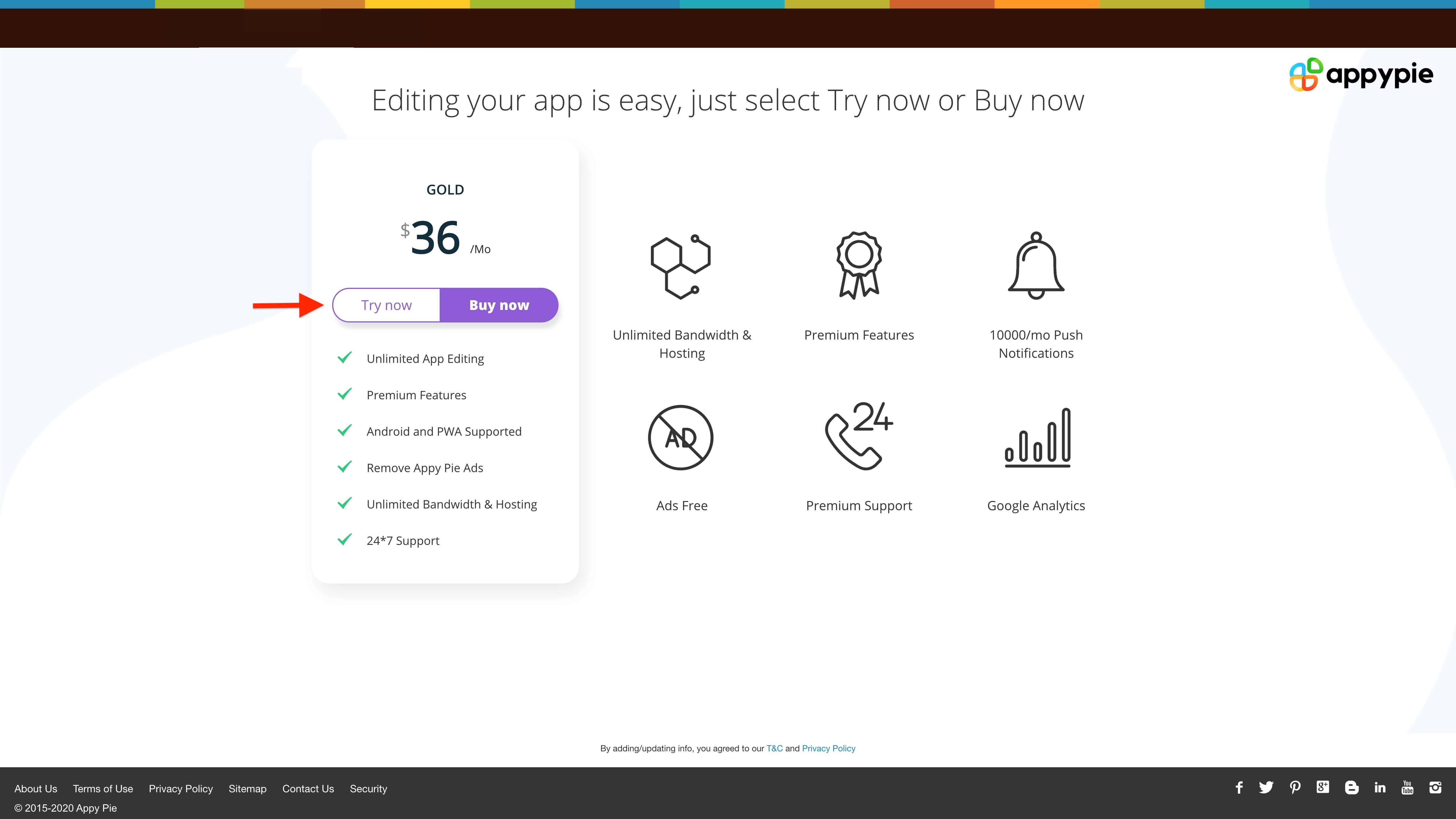 Create an Restaurant App