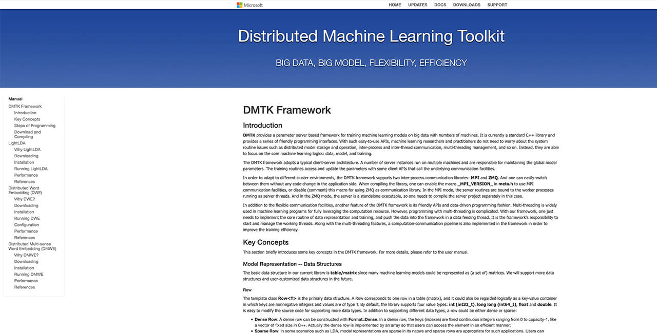 Microsoft-Distributed-Machine-Learning-Toolkit