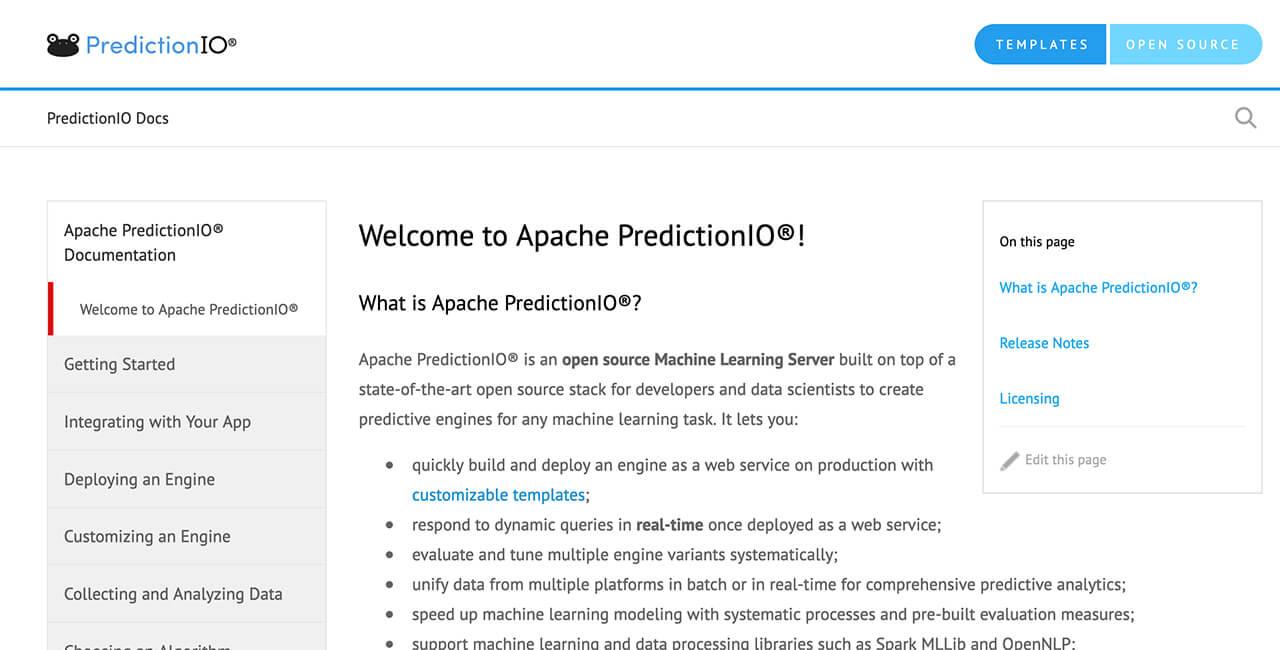 Apache-PredictionIO