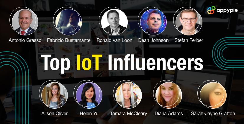 Top IoT Influencers - Appy Pie