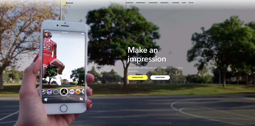 Snapchat Ads Appy Pie