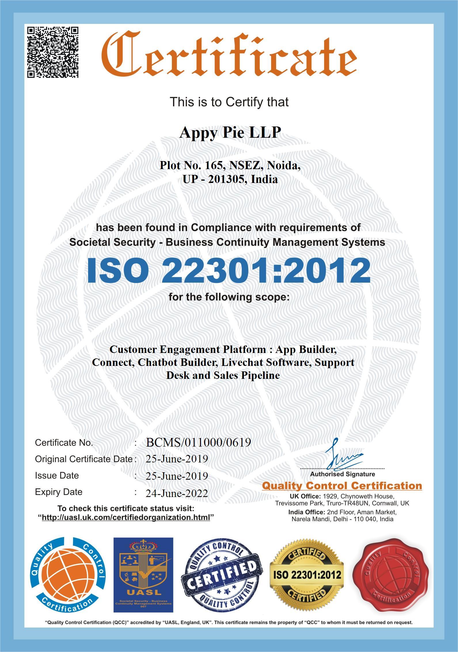 Appy Pie LLP