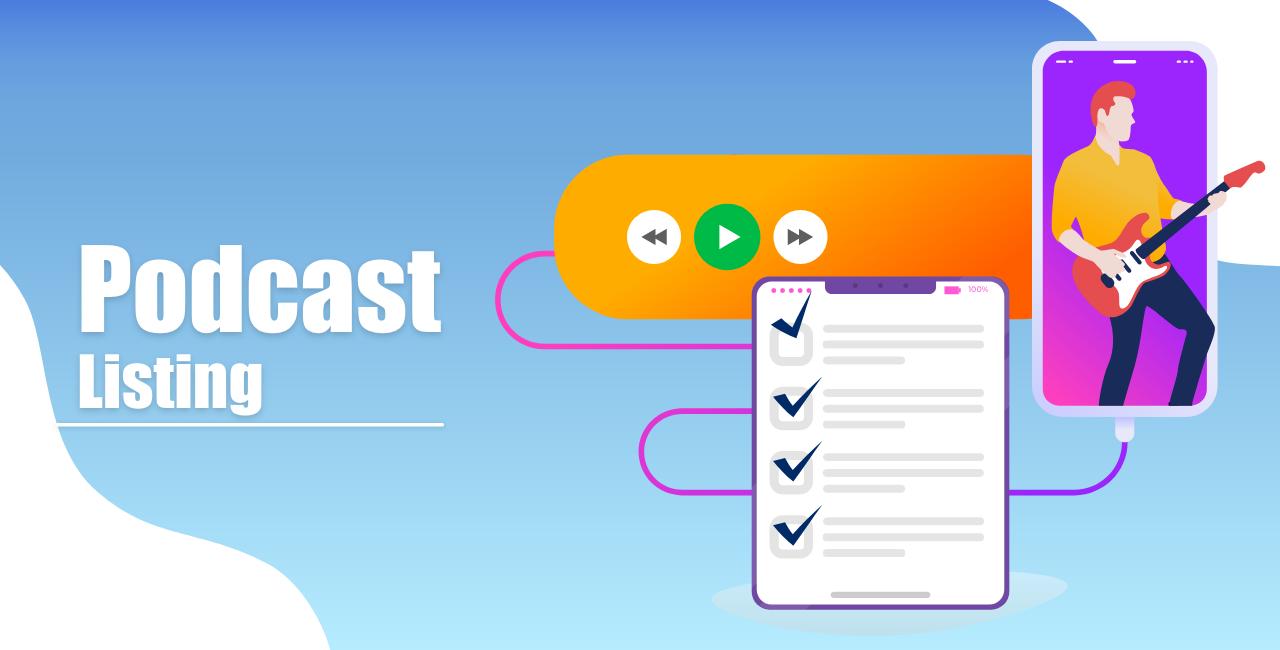 Podcast listing
