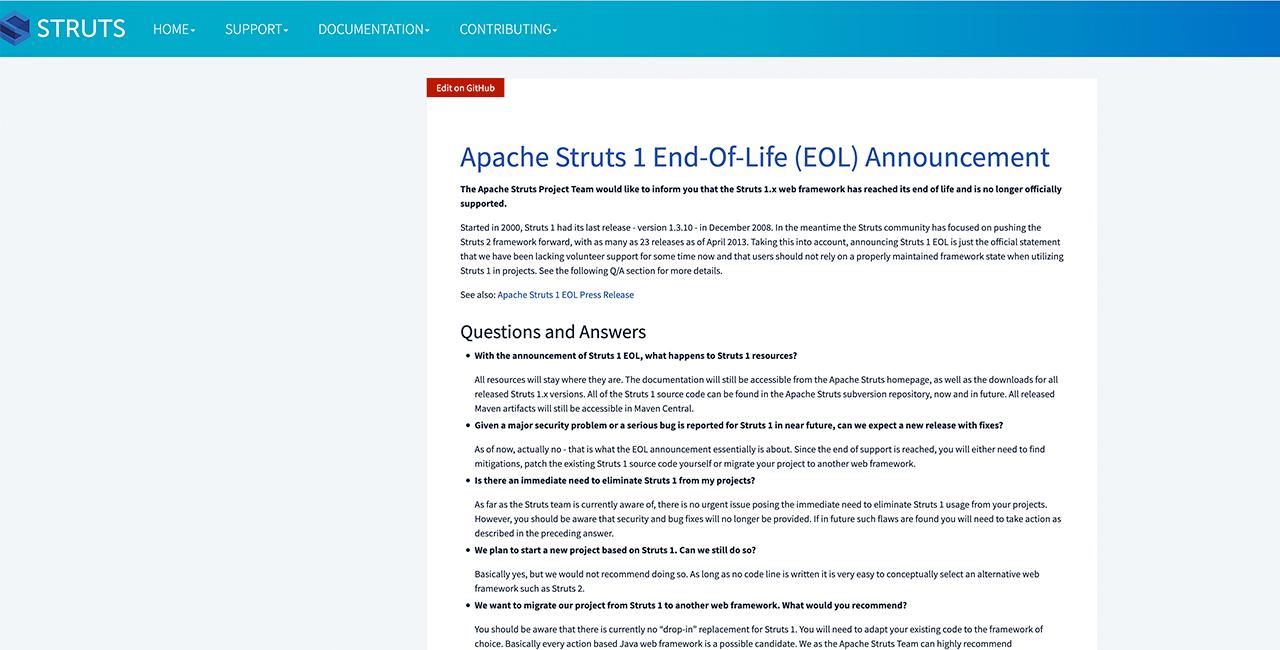 Apache-Struts-1