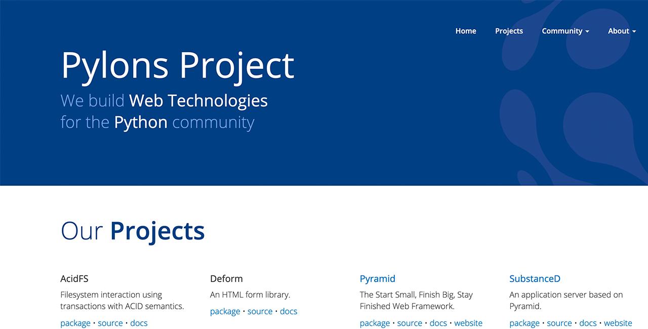 Pylons-project