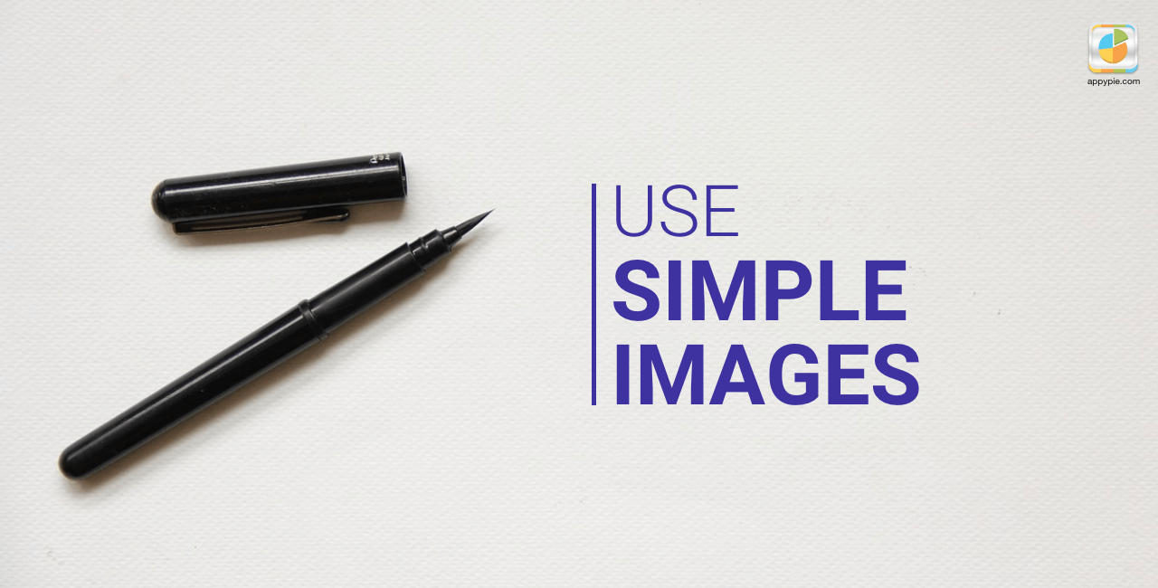 Use a simple image