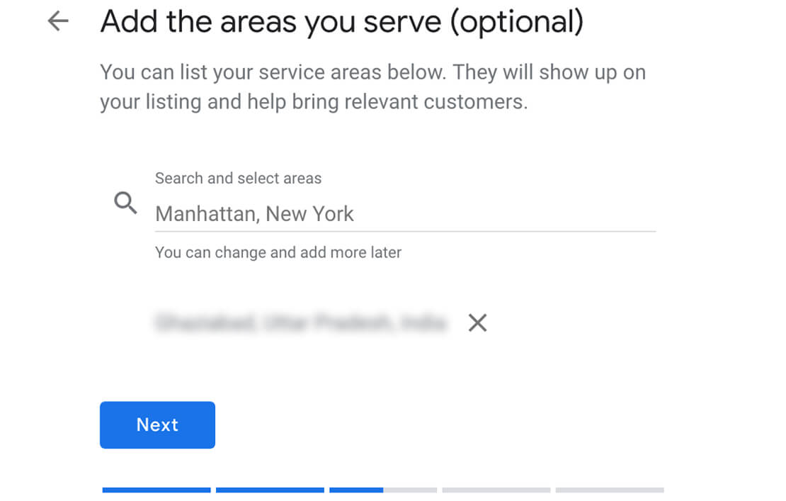 Creating a Google My Business Listing