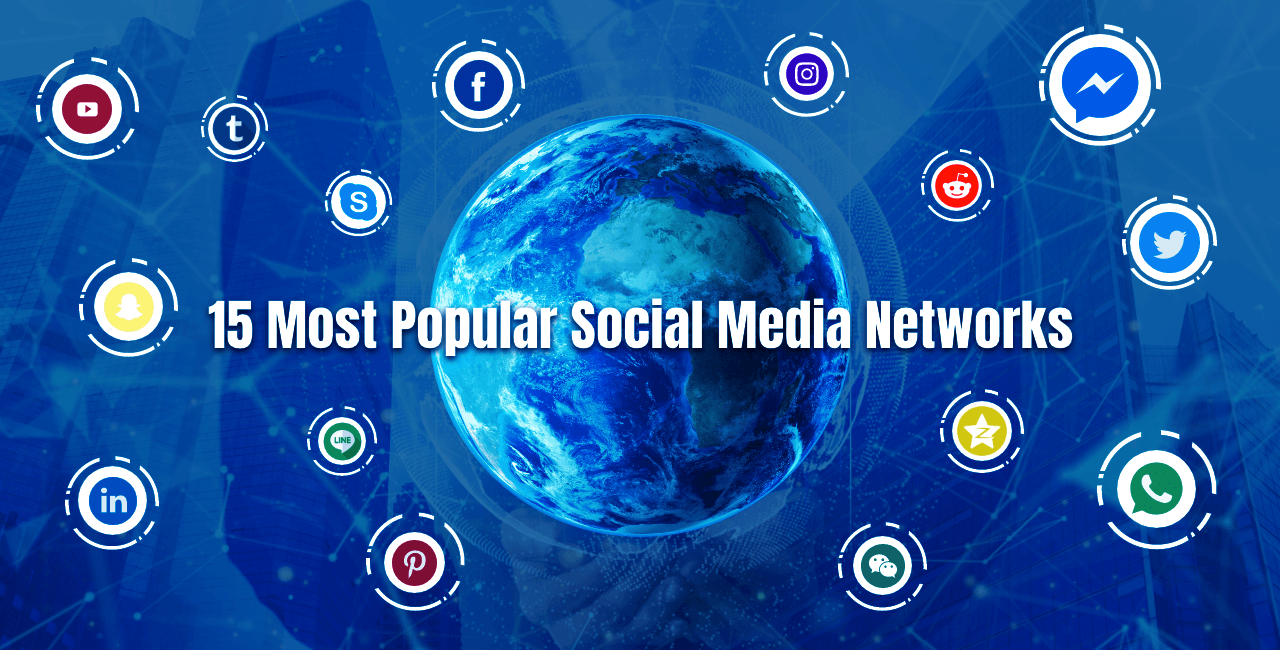 15 Most Popular Social Media Networks that will rule 2020