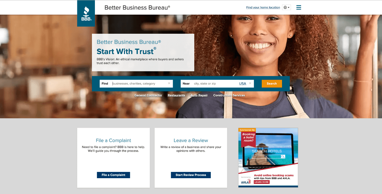 How to file a complaint with BBB (Better Business Bureau)