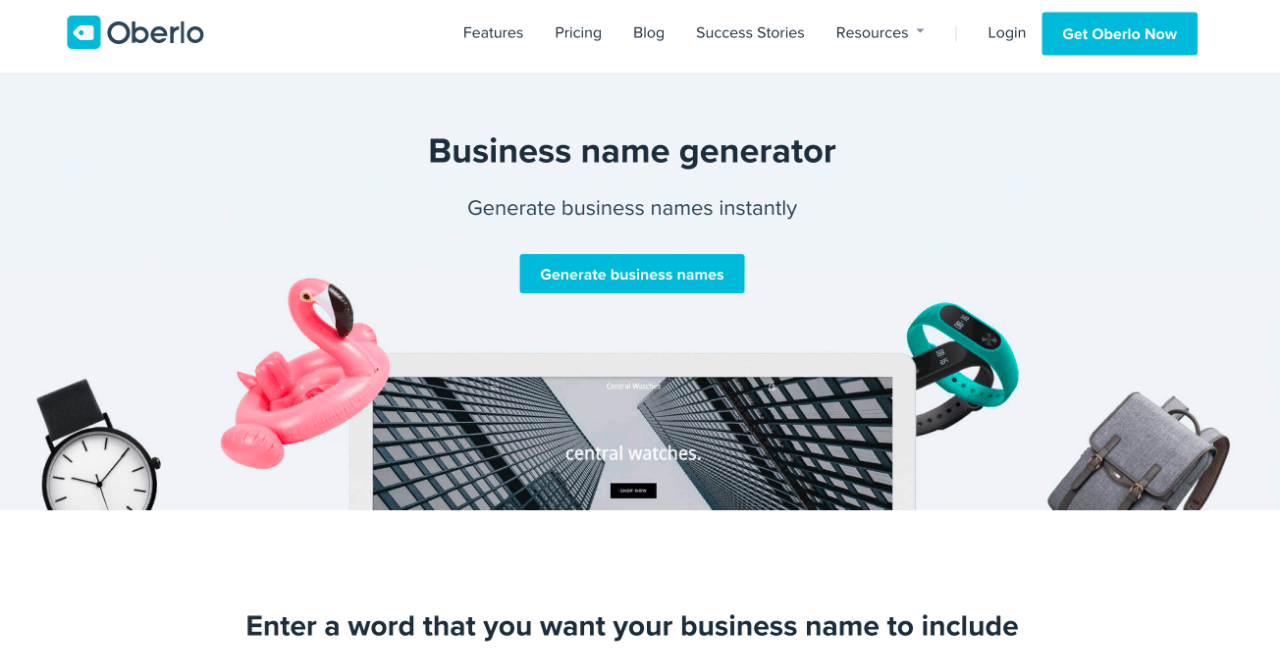 free name generator for business