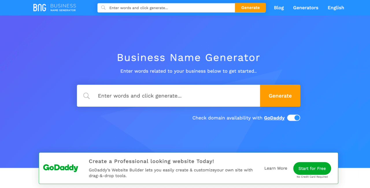 free business name generator