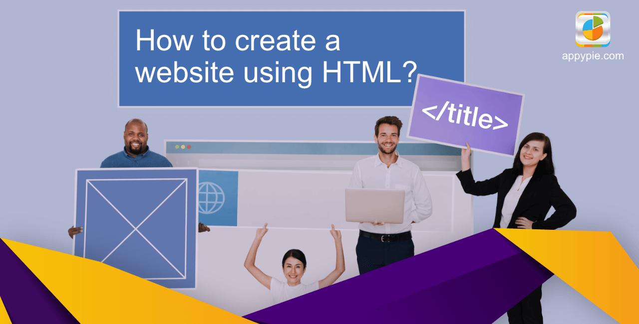 HTML Basics| How to create a website using HTML