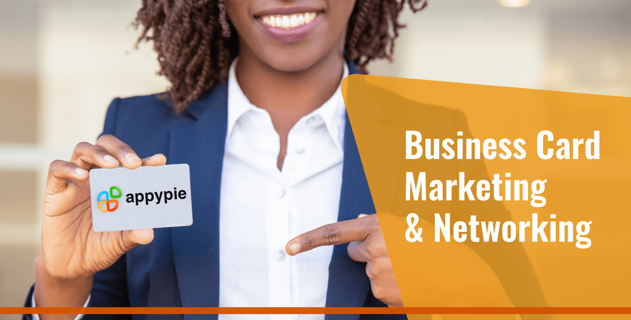 Marketing and Networking with Business Cards