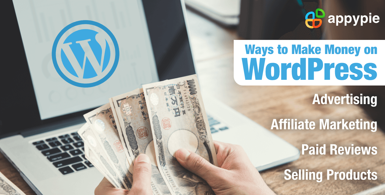 Appy Pie - How to Create a WordPress Website and Make Money