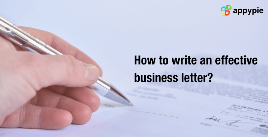 What Is A Business Letter Format from images.appypie.com