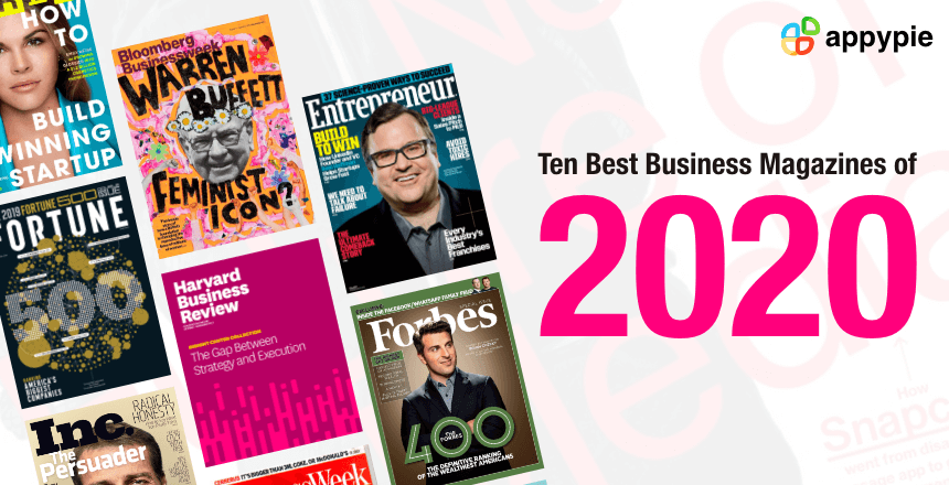 10 Best Business Magazines for Entrepreneurs - Appy Pie