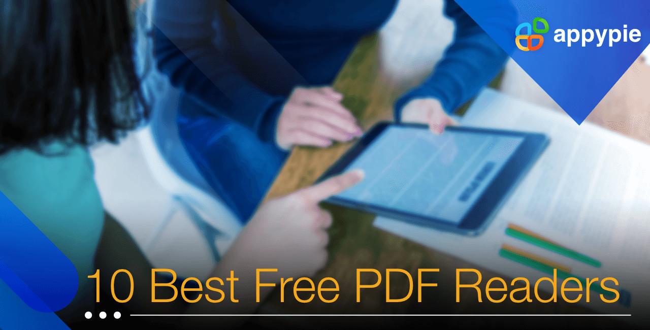 10 Best free Pdf reader - Appy Pie