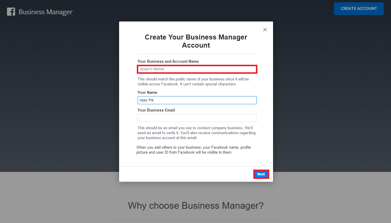 Facebook Business Manager 2 - Appy Pie