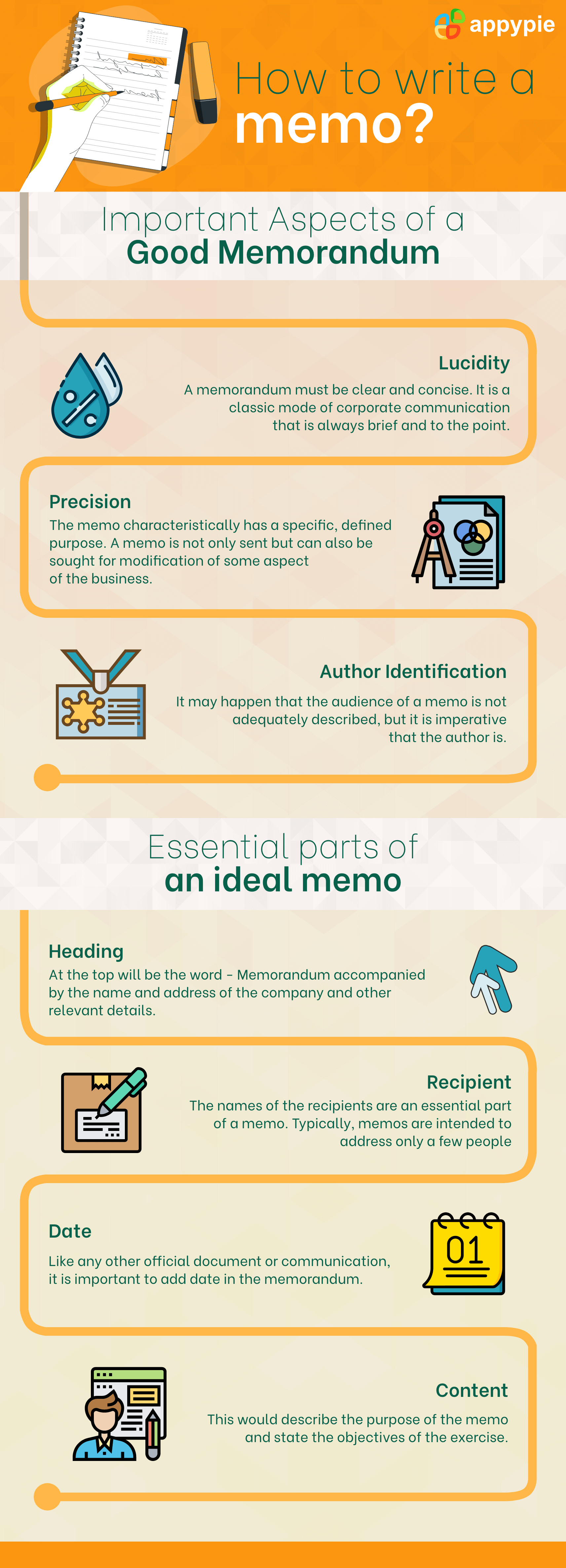 Appy Pie - How To Write A Memo