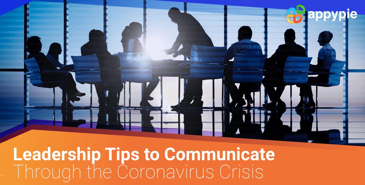 How to Communicate Through the Coronavirus Crisis - Appy Pie
