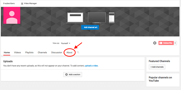 How to Create a YouTube Channel with 7 Simple Steps- Appy Pie