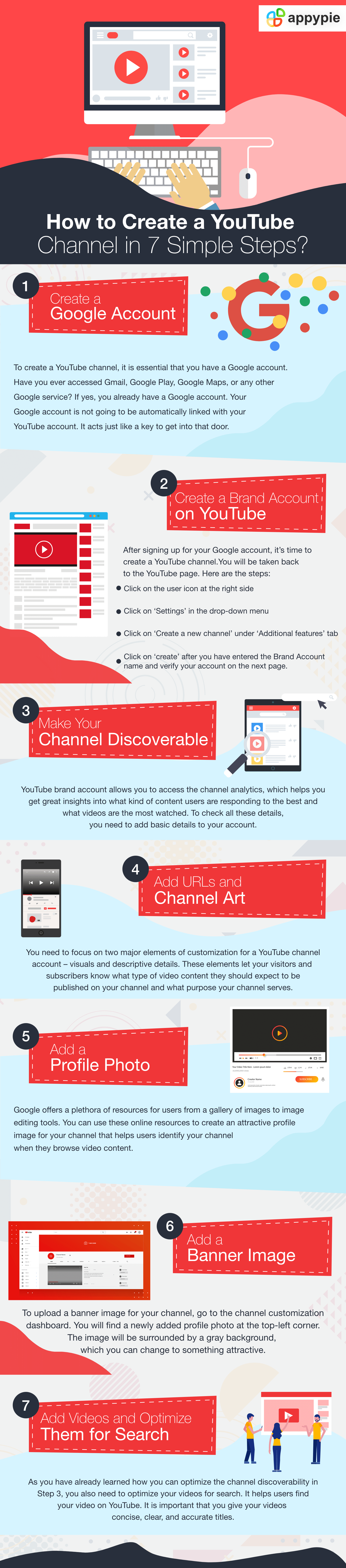 How to Create a YouTube Channel in 7 Simple Steps - Appy Pie