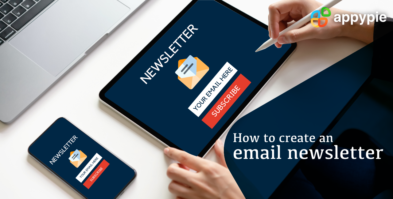 Appy Pie - How to create an email newsletter