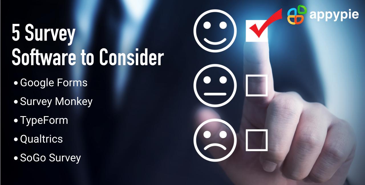 5 SurveySoftware to Consider - Appy Pie