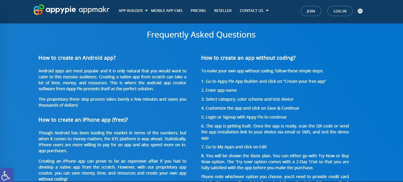 Relevant FAQs - Appy Pie