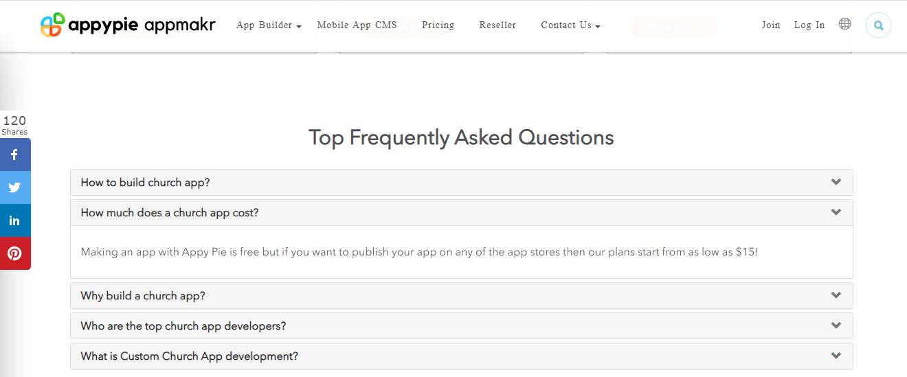 Appy Pie - Relevant FAQs