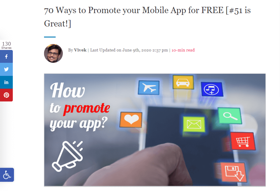 Analyze competitor articles and create something of greater value - Appy Pie