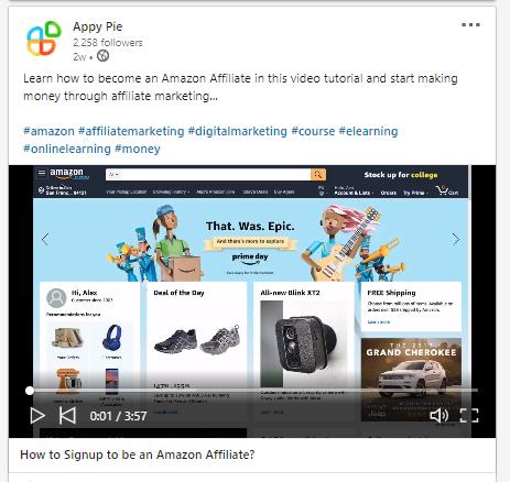 Appy Pie - Repurpose Content
