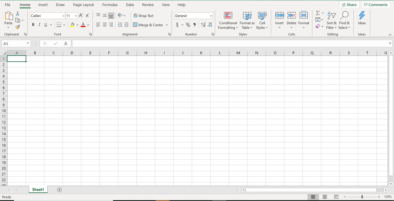MS Excel sheet - Appy Pie