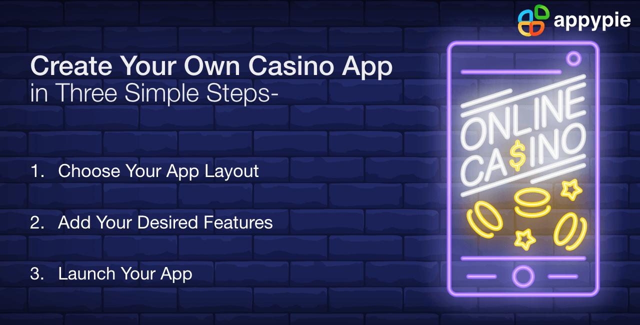 Create your own casino app - Appy Pie
