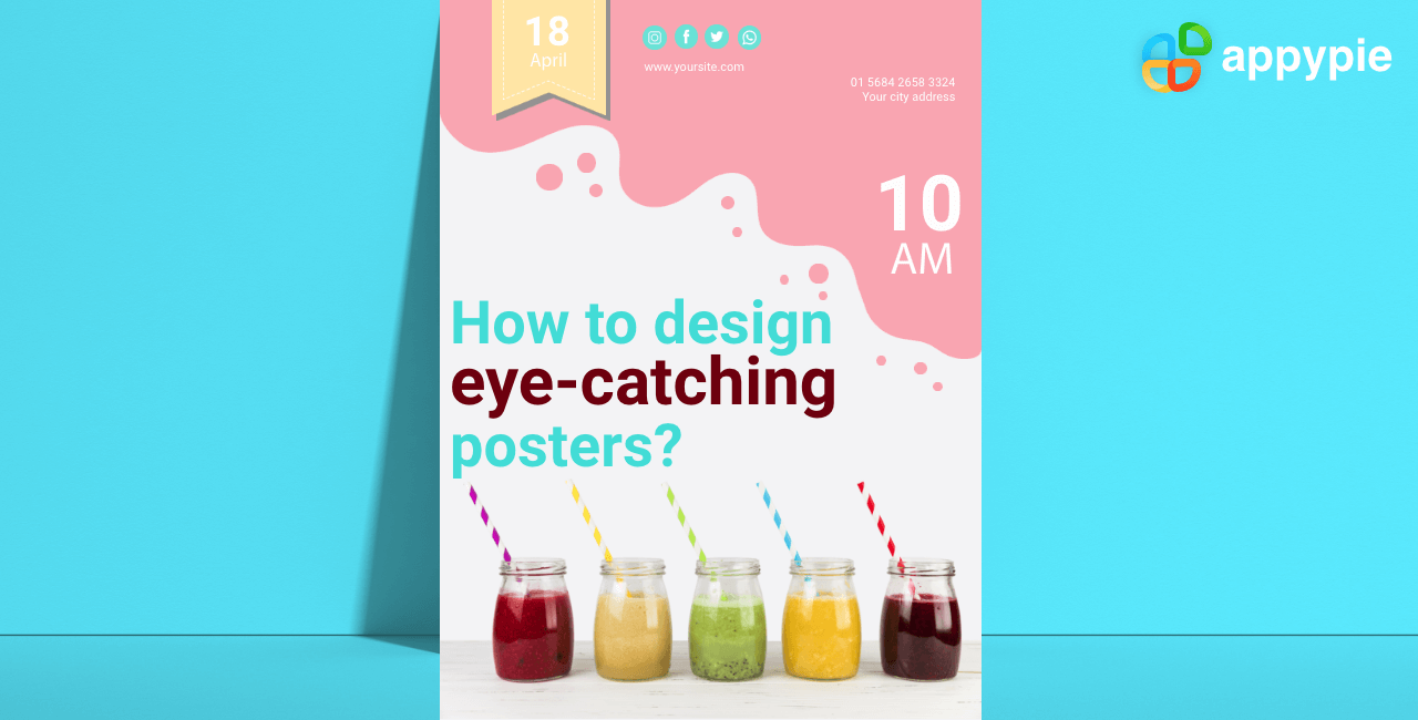 How to design eye-catching posters - Appy Pie