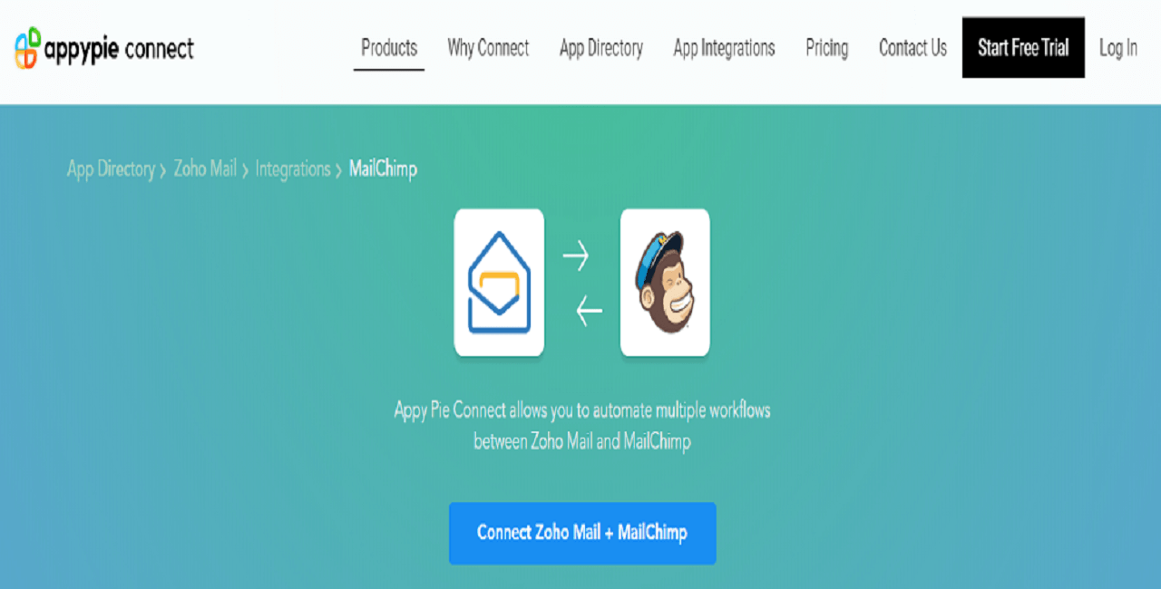 Integrate Zoho CRM with Mailchimp - Appy Pie