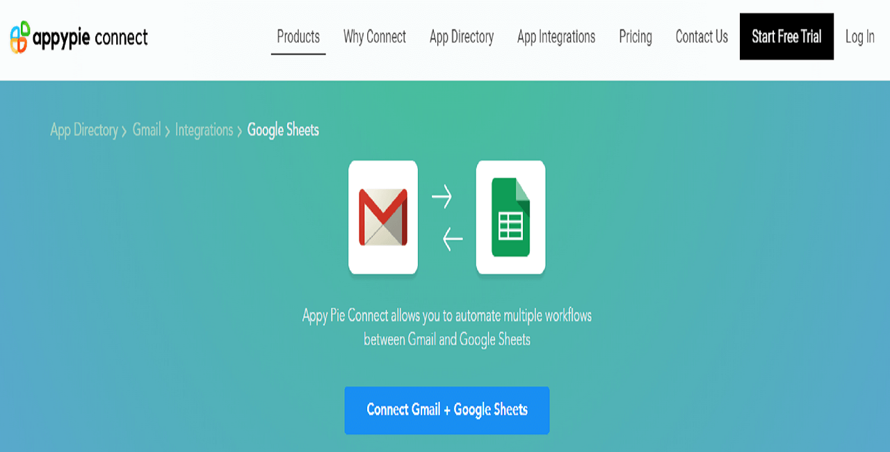 Gmail account with Google Sheets - Appy Pie