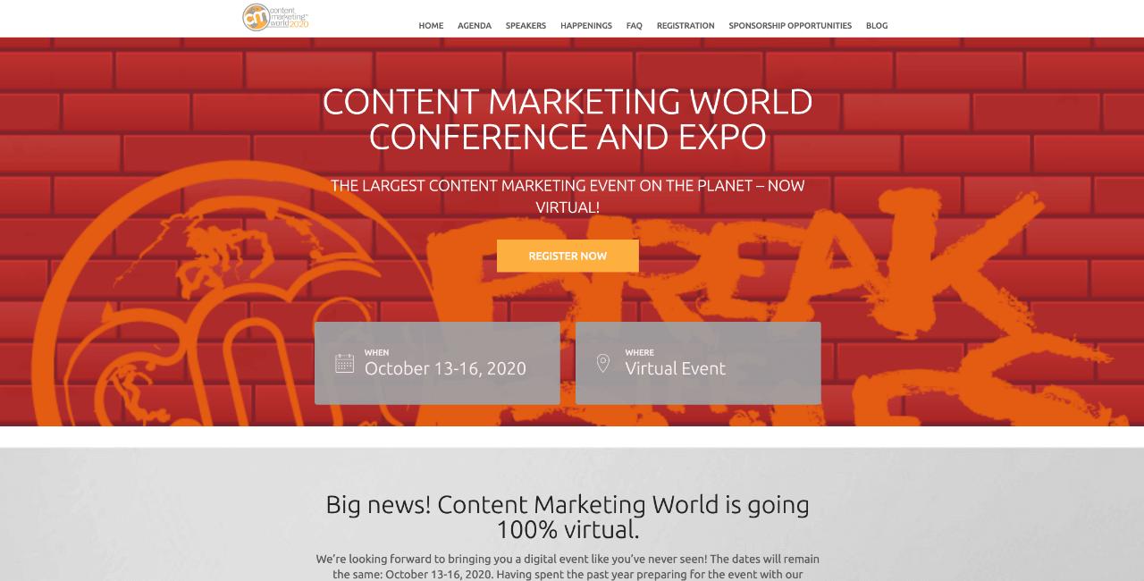 content marketing world - Appy Pie