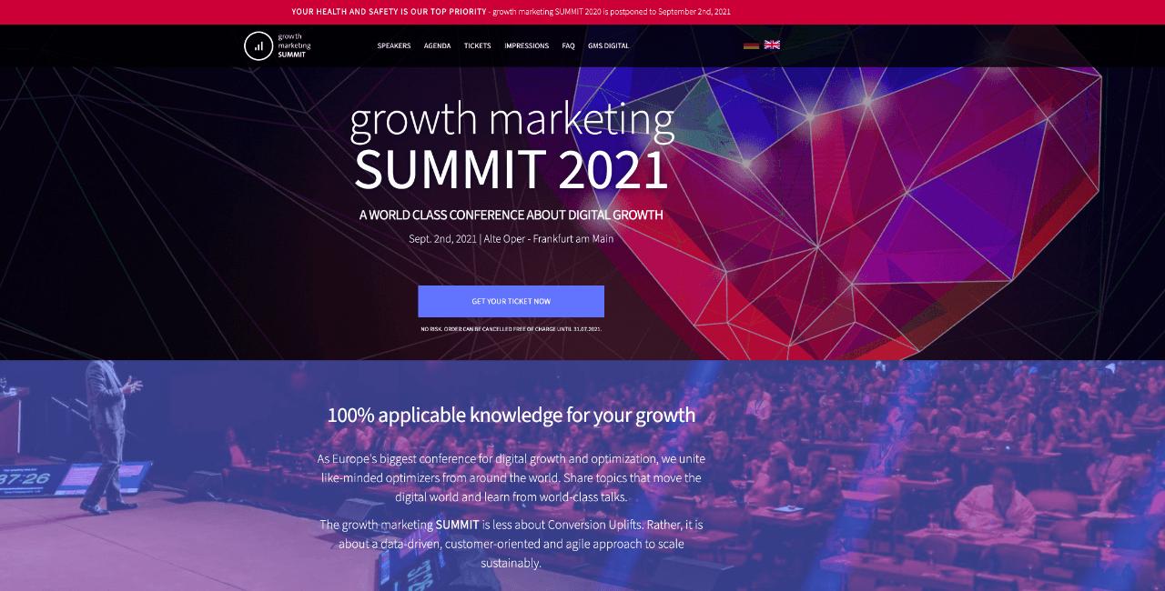growth marketing summit - Appy Pie