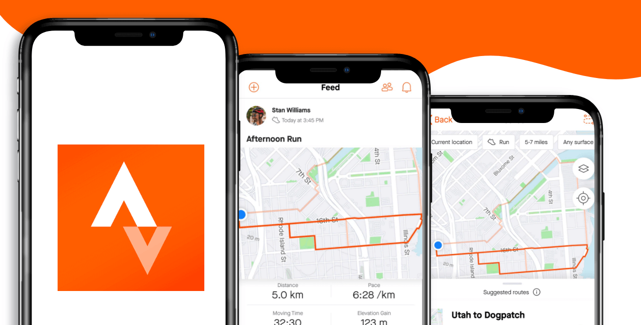 Strava Running & Cycling - Appy Pie