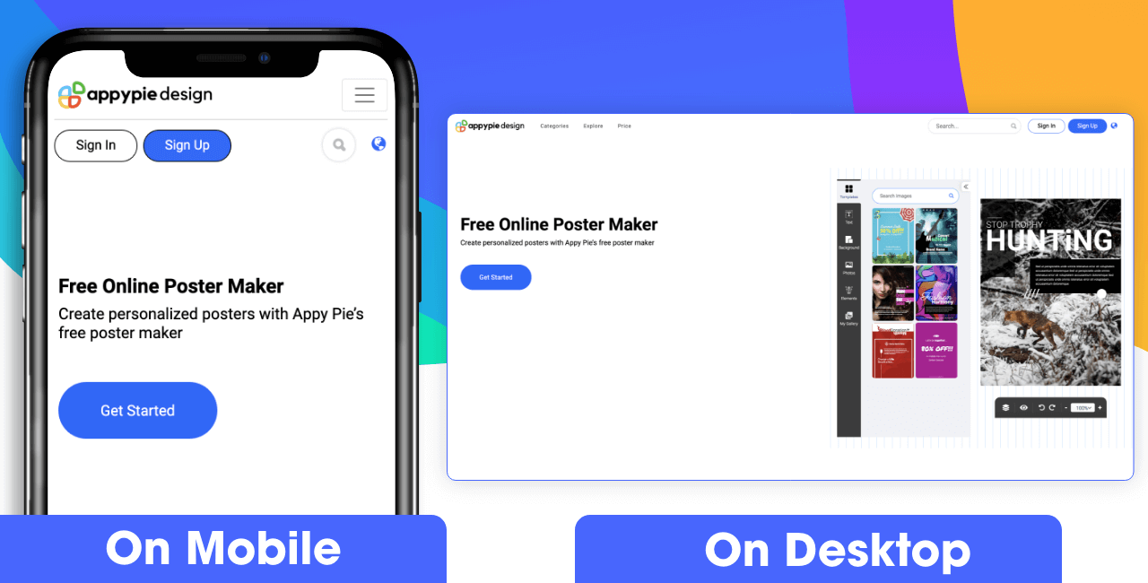 Appy Pie Design Poster Maker