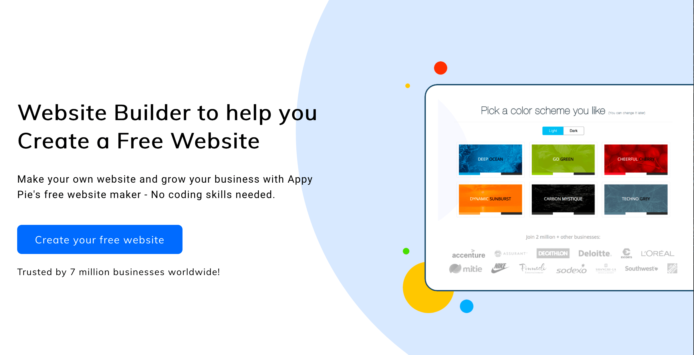 Free Website Builder to Create Your Own Website   Appy Pie