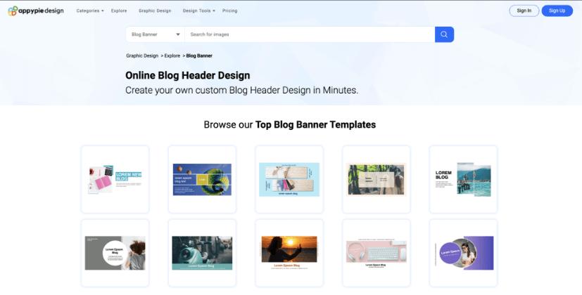 Design Template - Appy pie
