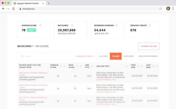 seo analyze website