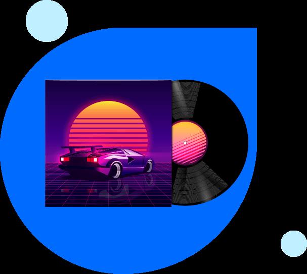 make an album cover