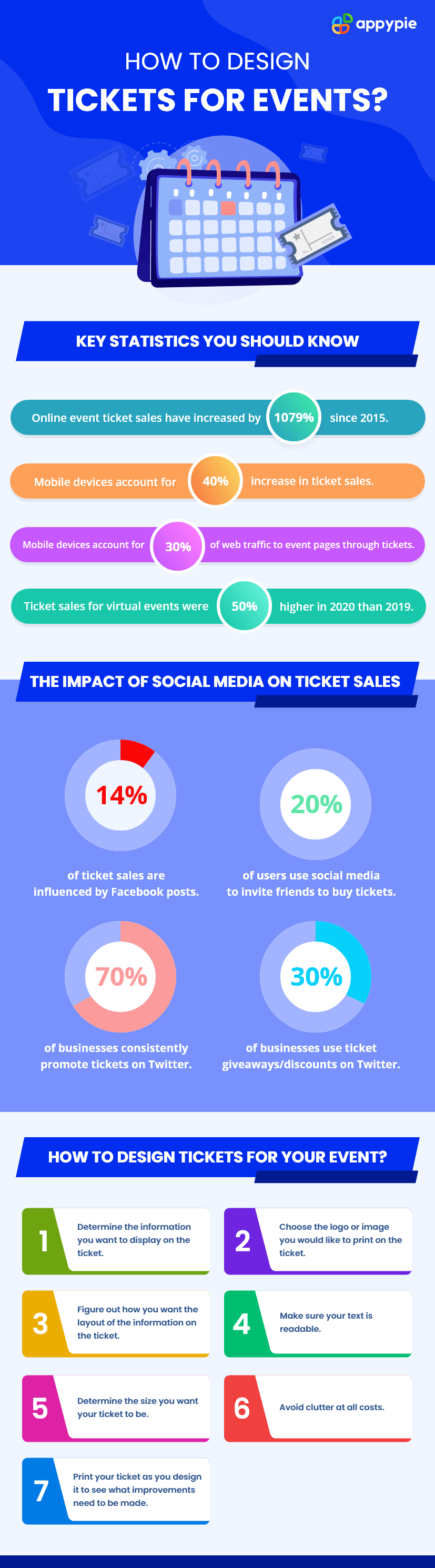 how to design tickets for events - Appy Pie